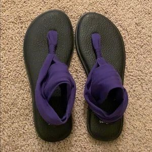 Sanuk Yoga Sling, Size 9 - EXCELLENT CONDITION